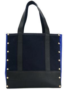 сумка-тоут с панельным дизайном Sacai