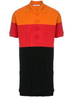 футболка-поло с полосатыми панелями Givenchy