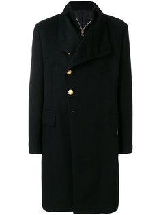 многослойное пальто Balmain