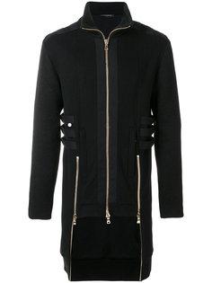 пальто с лямками Balmain