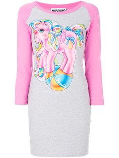 платье-футболка с рукавами реглан My Little Pony Moschino