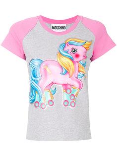 университетская футболка My Little Pony Moschino