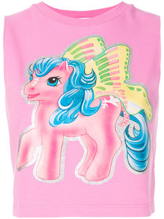 укороченный топ My Little Pony Moschino