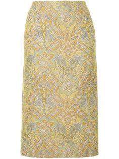 юбка миди с цветочным узором Cityshop