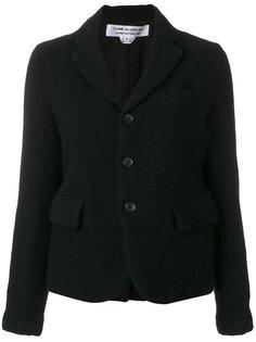 пиджак с застежкой на три пуговицы  Comme Des Garçons