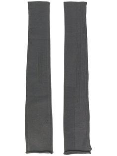 длинные перчатки Rick Owens