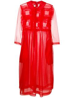 прозрачное платье с завышенной талией  Comme Des Garçons Girl