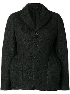 фактурный структурированный пиджак Comme Des Garçons
