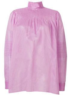 блузка с высокой горловиной Valentino