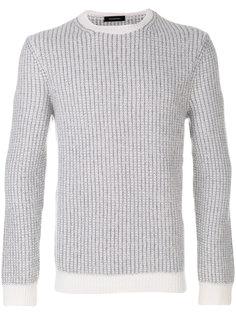 свитер в рубчик Ermenegildo Zegna