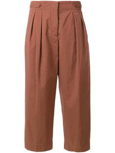 плиссированные брюки-кюлоты  Forte Forte