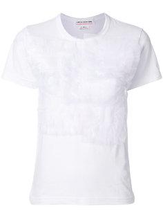 gathered textile T-shirt Comme Des Garçons Girl