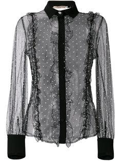 блузка с кружевной отделкой Piccione.Piccione