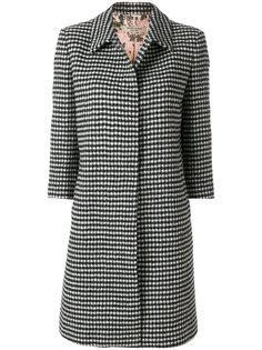 приталенное пальто с вышивкой Piccione.Piccione