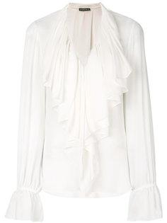 блузка с оборкой  Plein Sud