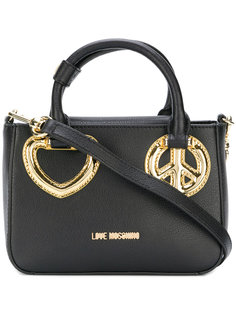 сумка-тоут peace and love Love Moschino