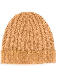 шапка ребристой вязки La Fileria For Daniello
