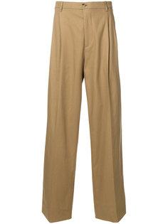 брюки с высокой талией Raf Simons