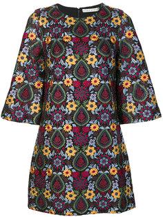 платье шифт с цветочной вышивкой Alice+Olivia