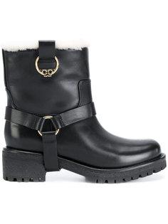 ботинки с отделкой из овчины Henry Tory Burch