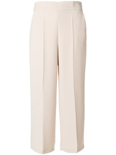 укороченные брюки со складками  Blugirl