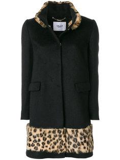 пальто с леопардовым принтом  Blugirl