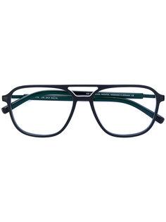 классические очки-авиаторы Mykita