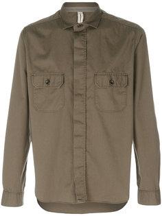 классическая приталенная рубашка Dnl