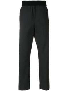широкие брюки  с эластичным поясом Stephan Schneider