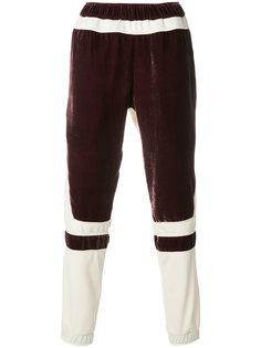 брюки с панельным дизайном Astrid Andersen