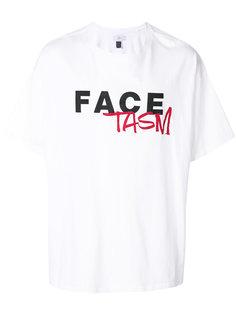 футболка с принтом-логотипом Facetasm