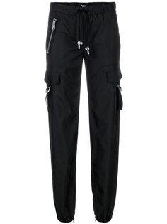 брюки прямого кроя с эластичным поясом Versus