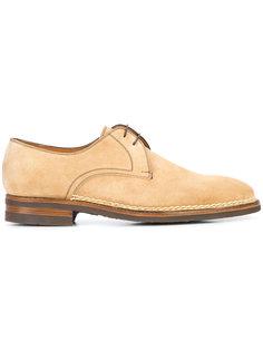 туфли на шнуровке Bontoni