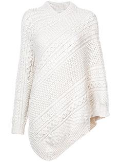 асимметричный свитер-накидка Rosie Assoulin