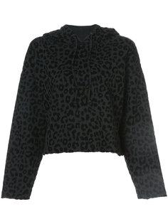 leopard print hoodie Rta