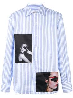 рубашка с фото нашивкой Misbhv