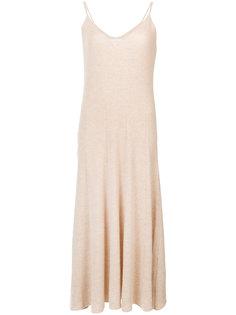 ребристое платье на бретелях Ryan Roche