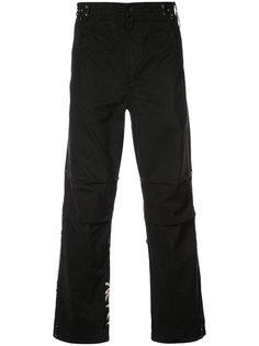 брюки с вышивкой сзади Maharishi