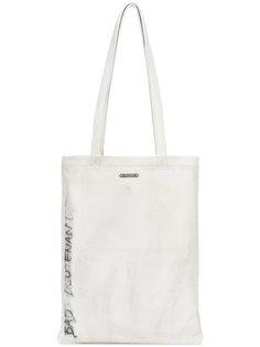 сумка-шоппер с потертой отделкой Saint Laurent