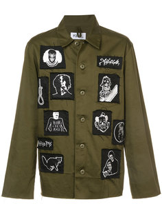 куртка с нашивками Kidill