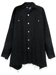 асимметрчиная джинсовая куртка Kidill