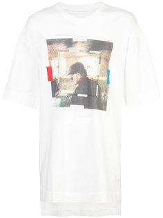 футболка с фото принтом Julius