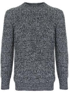 двухцветный свитер  Loveless