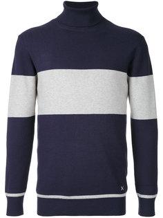 полосатый свитер с отворотной горловиной Guild Prime