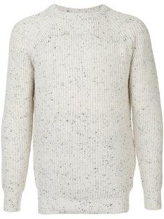 меланжевый свитер в рубчик Guild Prime