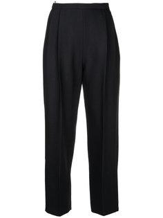 укороченные брюки с завышенной талией Delpozo