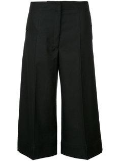 укороченные широкие брюки Lemaire