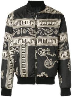 двухсторонняя куртка-бомбер  Versace Collection