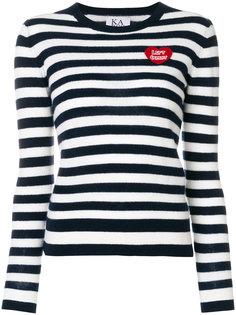 приталенный свитер в полоску Zoe Karssen