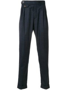 классические брюки в клетку  Eleventy